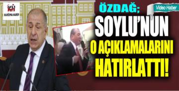 Ümit Özdağ, Süleyman Soylu'nun o açıklamalarını hatırlattı