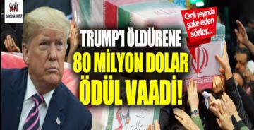 Trump'ı öldürene 80 milyon dolar ödül vaadi
