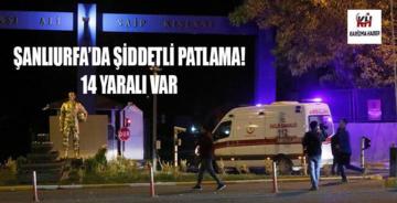 SON DAKİKA; Şanlıurfa'daki 20. Zırhlı Tugay Komutanlığında patlama!