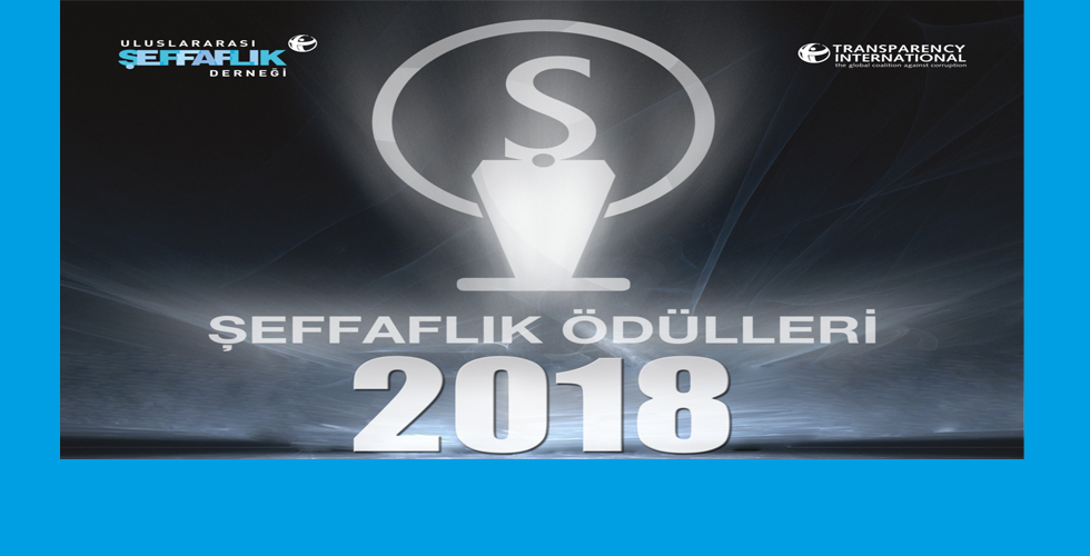2018 Şeffaflık Ödülleri Sahiplerini Buluyor