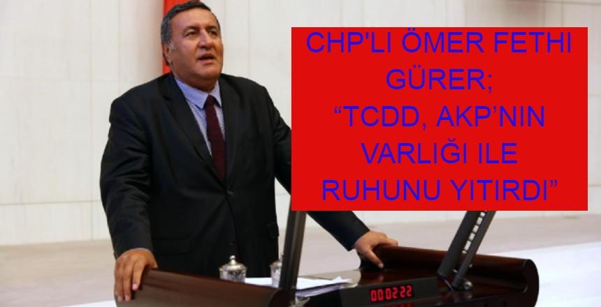 GÜRER; AKP, SEMBOLEŞEN KURULUŞLARI HIZLA TÜKETİYOR..