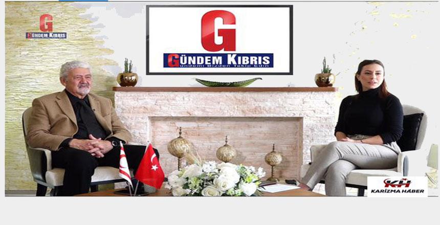 """Prof.Dr. Ata Atun IPTV, """"Gündem Kıbrıs"""" programına konuk oldu"""