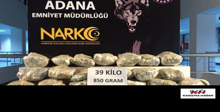 Adana'da uyuşturucu operasyonunda 27 kişi tutuklandı
