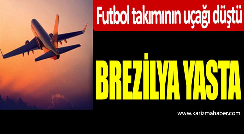 Palmas'ın uçağı düştü! Başkan ve dört futbolcu hayatını kaybetti