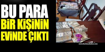 Bu para bir kişinin evinde çıktı. Savunma Sanayi Başkanlığı'ndaki soruşturmada şok detaylar!