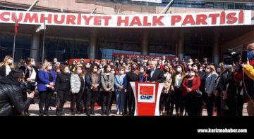 CHP'li Kadınlar,İstanbul Sözleşmesi'nin iptali için Danıştay'da dava açtı.