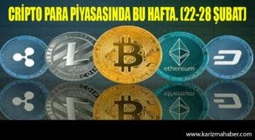 Kripto para piyasasında bu hafta / 22-28 Şubat
