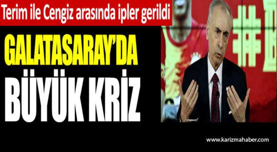 Galatasaray'da büyük kriz! Mustafa Cengiz ile Fatih Terim arasında ipler gerildi