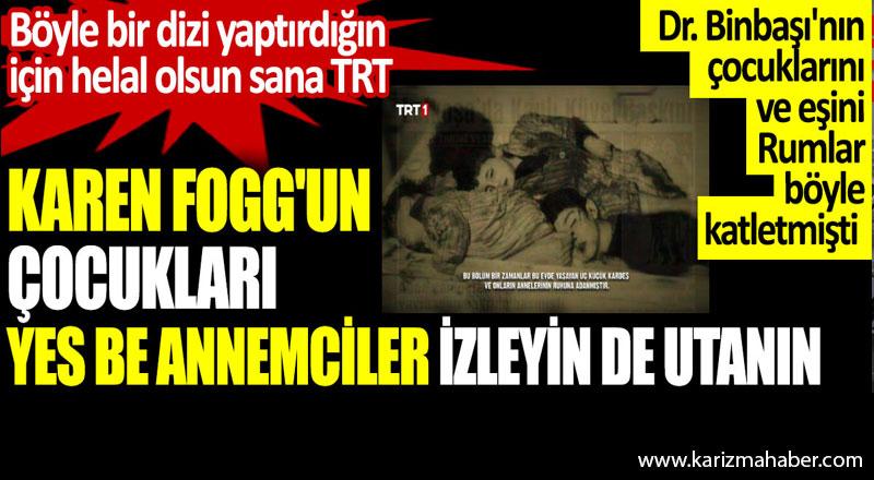 Böyle bir dizi yaptırdığın için helal olsun sana TRT.