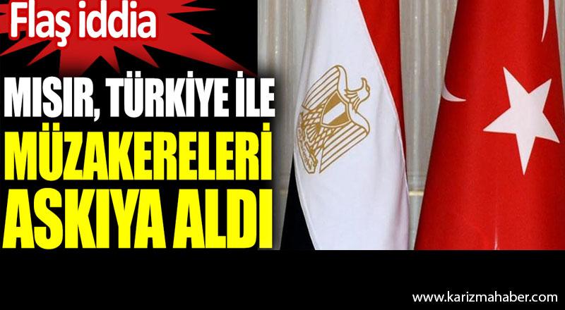 Mısır, Türkiye ile müzakereleri askıya aldı iddiası