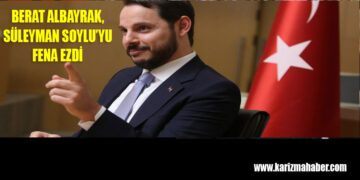 Berat Albayrak cephesi Süleyman Soylu'yu fena ezdi