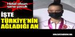 Milli sporcu Ayşe Begüm Onbaşı, Türkiye'yi sevinçten ağlattı.