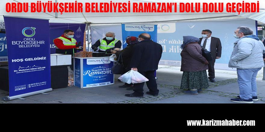 BÜYÜKŞEHİR RAMAZAN'I DOLU DOLU GEÇİRDİ