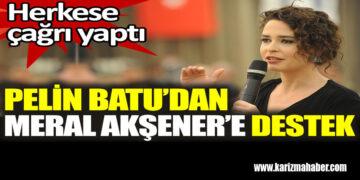 Pelin Batu'dan Meral Akşener'e destek. Herkese çağrı yaptı