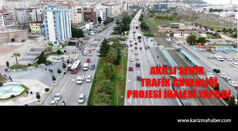 Samsun' da 'Akıllı Şehir Trafik Güvenliği Projesi' ihale edildi
