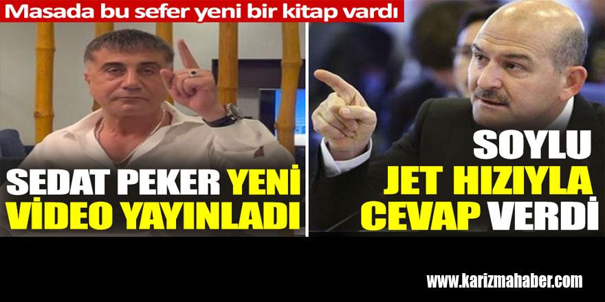 Sedat Peker 4.videosunu yayınladı. Soylu jet hızıyla cevap verdi
