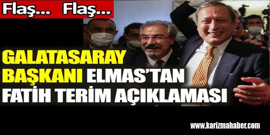 Burak Elmas'tan son dakika Fatih Terim açıklaması
