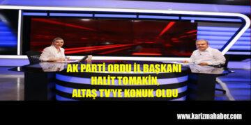 Ak Parti Ordu İl Başkanı Halit Tomakin'in Basın Açıklaması
