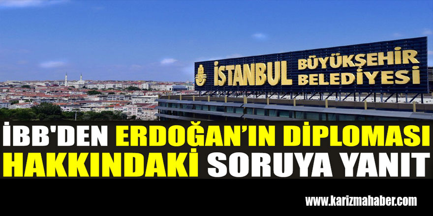 BB'den Erdoğan'ın diploması hakkındaki soruya yanıt
