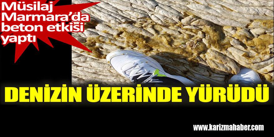 Müsilaj Marmara'da beton etkisi yaptı