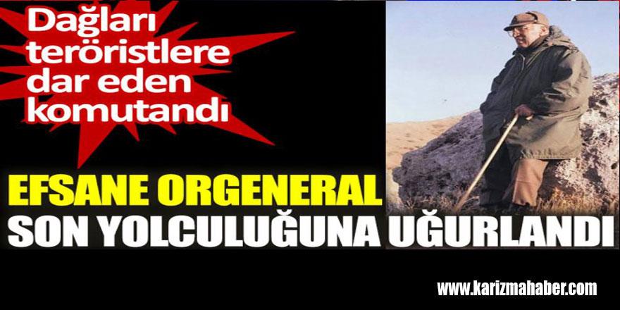 Efsane Orgeneral Necati Özgen son yolculuğuna uğurlandı