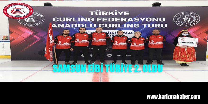 Anadolu Curling Turu Müsabakalarında Samsun Türkiye 2.si oldu.
