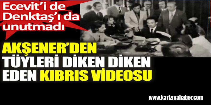 Meral Akşener'den tüyleri diken diken eden Kıbrıs videosu
