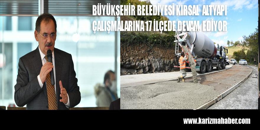 Tekkeköy'ün yollarına Büyükşehir dokunuşu