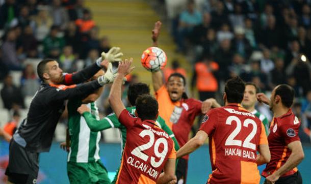 Bursaspor-Galatasaray randevusundan kazanan çıkmadı