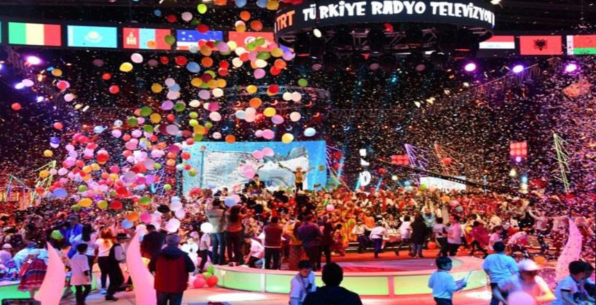 41. TRT Uluslararası 23 Nisan Çocuk Şenliği Muhteşem Gala Gösterisiyle Sona Erdi