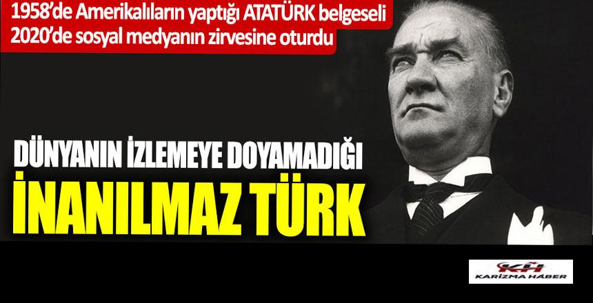 Dünyanın izlemeye doyamadığı İnanılmaz Türk