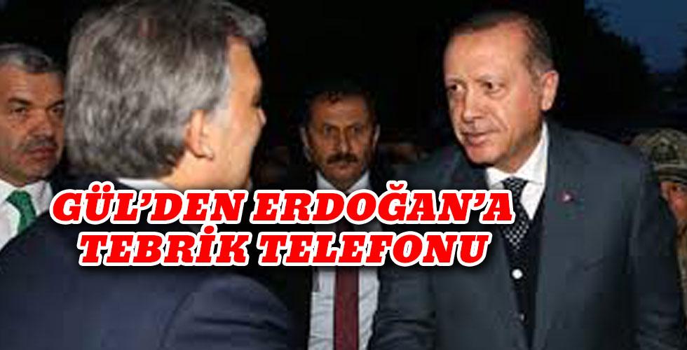 Gül'den Erdoğan'a telefon