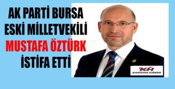 AK Parti'den bir istifa daha!