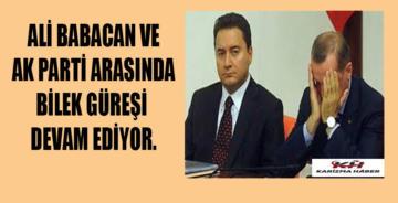 Ali Babacan'dan AK Parti'li isimlere telefon!