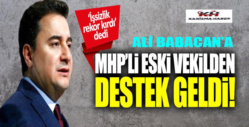 Erhan Usta'dan Ali Babacan'a destek!
