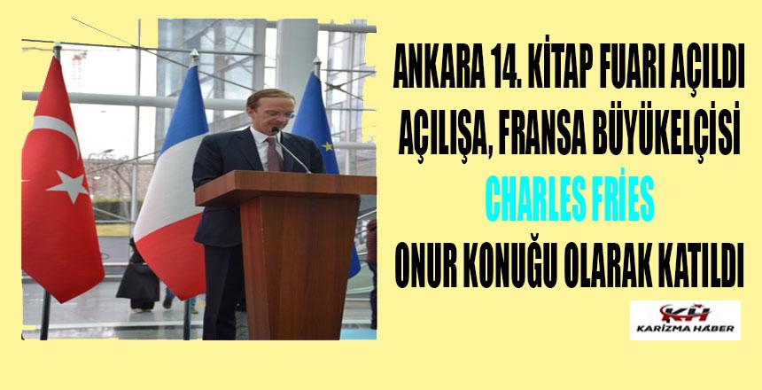 Ankara 14. kitap fuarı açıldı!