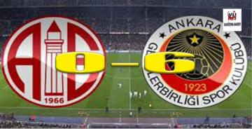 Antalyaspor 0-6 Gençlerbirliği
