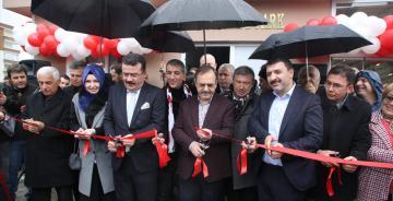 Atakum'da toplu açılış… 3 proje birden hizmete açıldı.