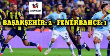 Başakşehir, Fenerbahçe'yi eli boş gönderdi..!