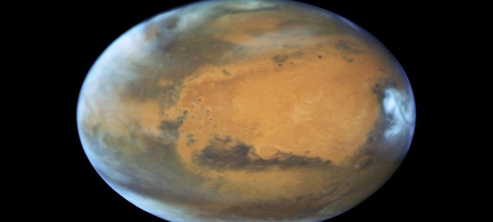 İşte Mars'ın en yeni fotoğrafı