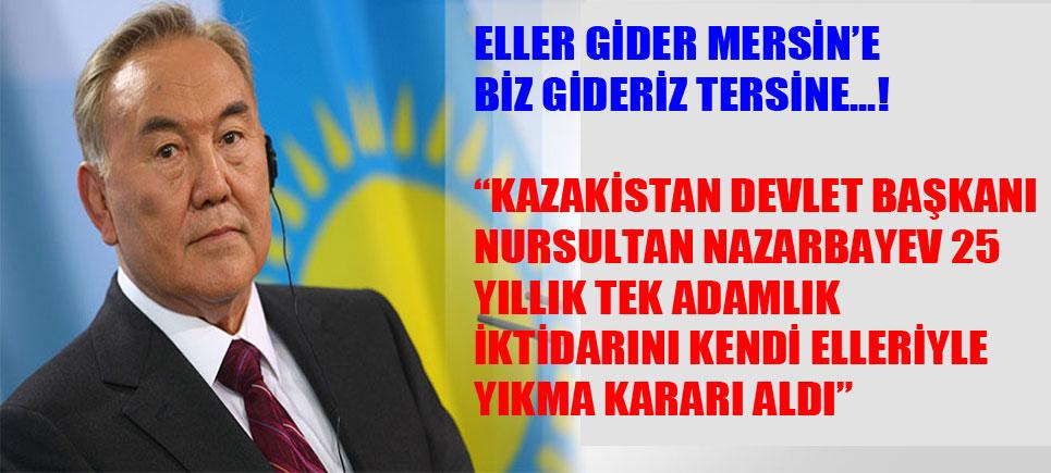 Türkiye'de Belli Bir Grup Başkanlık İsterken, Kazakistan Başkanlıktan vazgeçiyor