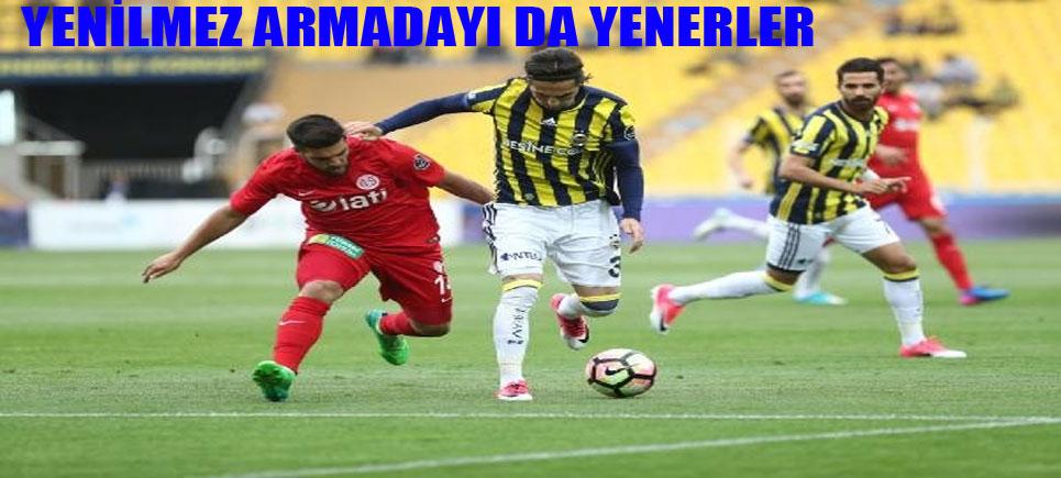 Fenerbahçe 0 – Antalyaspor: 1