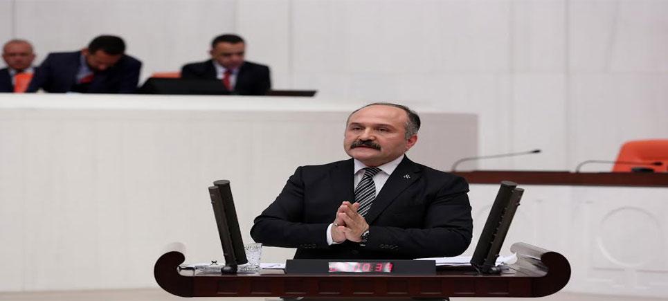 MHP Grup Başkanvekili ve Samsun Milletvekili Erhan Usta Meclis Kürsüsünde 19 Mayıs'ı konuştu.