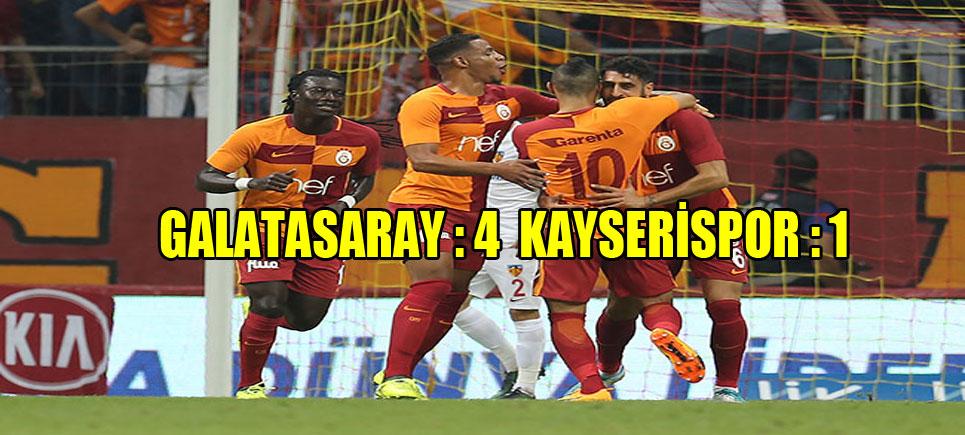 Galatasaray Lige Hızlı Başladı…!