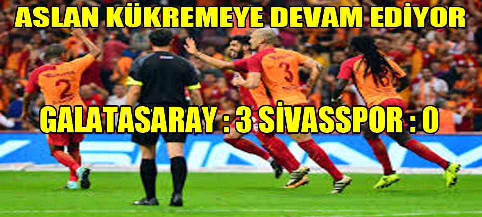 Galatasaray, Lige Buldozer Gibi Girdi. Önüne Geleni Ezip Geçiyor
