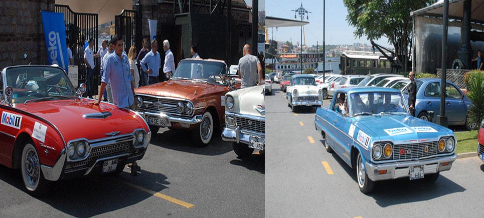 Klasik otomobiller tarihle buluştu