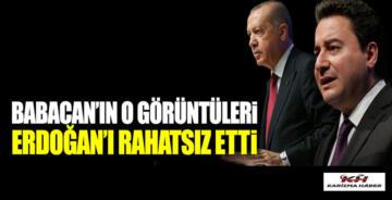Ali Babacan'ın o görüntüleri Erdoğan'ı rahatsız etti