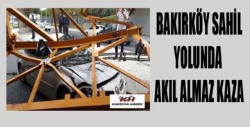 Bakırköy'de faciaya kıl payı!