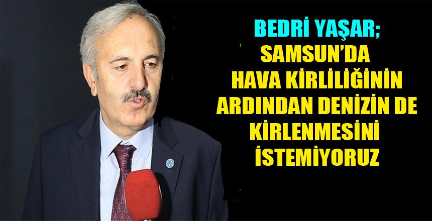 İyi Parti Samsun Milletvekili Bedri Yaşar'ın Basın Açıklaması
