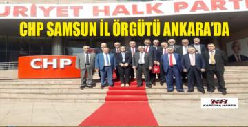 Chp Samsun İl Örgütünden Kemal Kılıçdaroğlu'na Tam Destek.